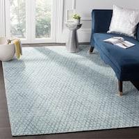 Safavieh Handmade Mirage Indigo Wool/ Viscose Rug - 9' x 12'