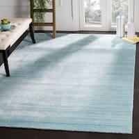 Safavieh Handmade Mirage Modern Sky Wool/ Viscose Rug (10' x 14')