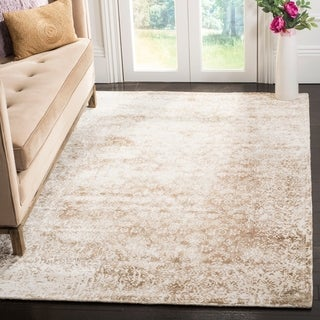 Safavieh Mirage Contemporary Handmade Ivory/ Beige Wool Rug (9' x 12')