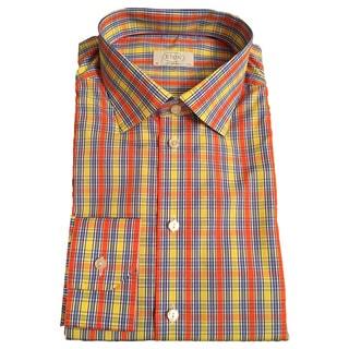 Eton Men's Plaid Cotton Shirt