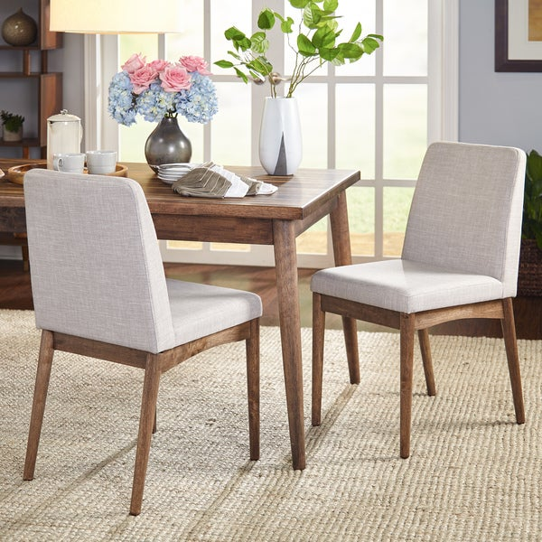 Simple Living Element Mid Century Dining Chairs (Set of 2) - Free ...