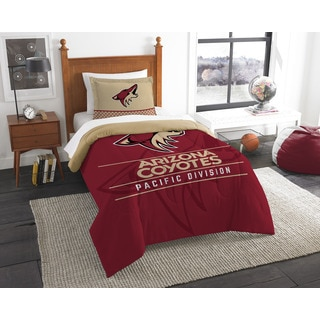The Northwest Company NHL Arizona Coyotes Draft Twin 2-piece Comforter Set