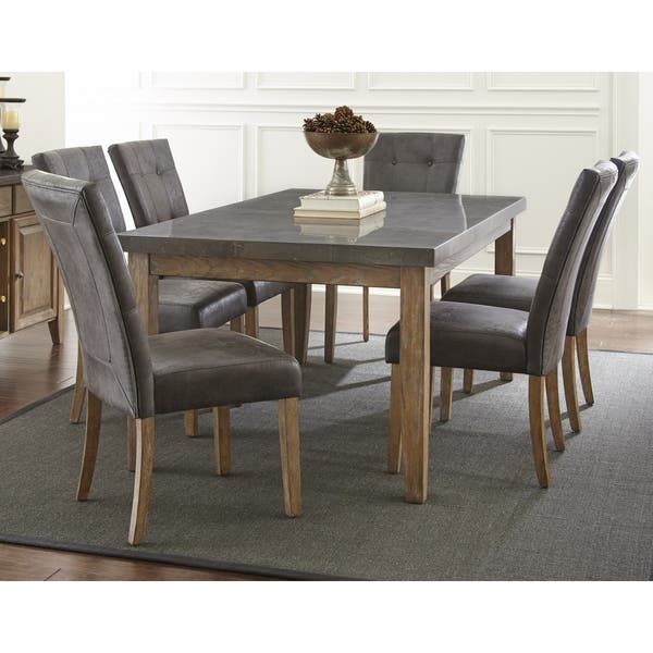 Shop The Gray Barn Overlook Dining Set with Stone Top - Free ...