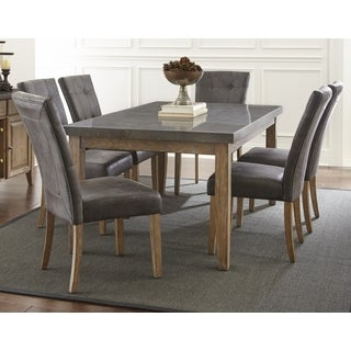 The Gray Barn Overlook Dining Set with Stone Top