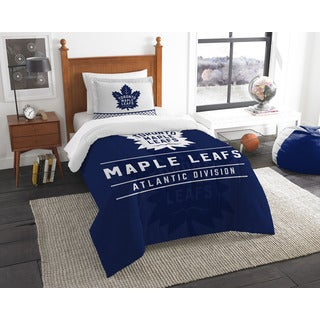 The Northwest Company NHL Toronto Maple Leafs Draft Twin 2-piece Comforter Set
