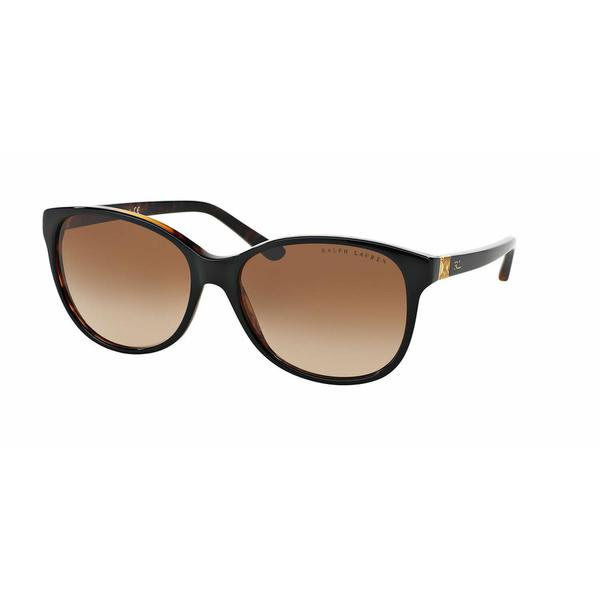 0553e93a69dc Shop Ralph Lauren Women RL8116 DECO EVOLUTION 526013 Black Plastic Cat Eye  Sunglasses - Free Shipping Today - Overstock - 13298733