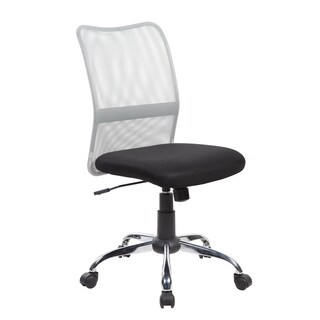 Black Mesh Back Adjustable Ergonomic Swivel Computer Office Chair