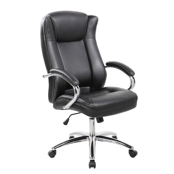 shop 9042 1 executive high back pu pvc leather office chair with rh overstock ca Vaughan Office Chairs Office Chair Norway
