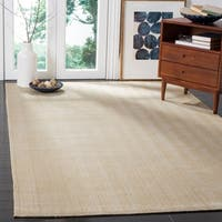 Safavieh Marbella Handmade Contemporary Gold Wool Rug - 8' x 10'