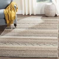 Safavieh Natura Handmade Bohemian Beige Wool Rug - 10' x 14'