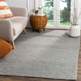 Safavieh Natura Handmade Contemporary Steel Wool Rug (8' x 10')