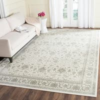 Safavieh Persian Garden Traditional Ivory/ Silver Viscose Rug - 8' x 10'