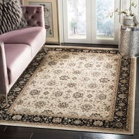 Safavieh Persian Garden Traditional Silver/ Cream Viscose Rug - 8' x 10'2""
