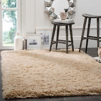 Safavieh Polar Light Beige Shag Rug - 6'7 x 9'2