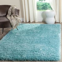 Safavieh Polar Light Turquoise Shag Rug - 6'7 x 9'2