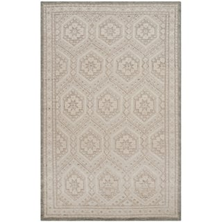 Safavieh Paseo Hand-Knotted Beige Wool Rug (9' x 12')