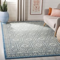 Safavieh Paseo Hand-Knotted Blue Wool Rug - 9' x 12'