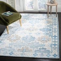 Safavieh Paseo Hand-Knotted Blue Wool Rug - 8' x 10'