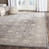 Safavieh Sofia Vintage Oriental Light Grey / Beige Distressed Rug - 10' x 14'