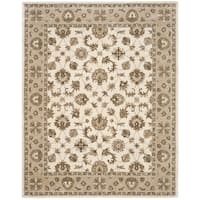 Safavieh Hand-Woven Stratford Light Blue/ Beige New Zealand Wool Rug - 8' x 10'