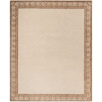 Safavieh Total Performance Handmade Trellis Ivory/ Cream Rug (9' x 12')