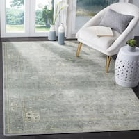 Safavieh Vintage Oriental Grey/ Multi Distressed Silky Viscose Rug - 9' x 12'