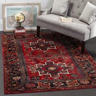 Safavieh Vintage Hamadan Traditional Red/ Multi Area Rug (9' x 12')|https://ak1.ostkcdn.com/images/products/13299741/P20008033.jpg?impolicy=medium