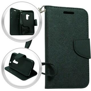 LG Magna H502G Volt 2 Black Wallet Pouch Case