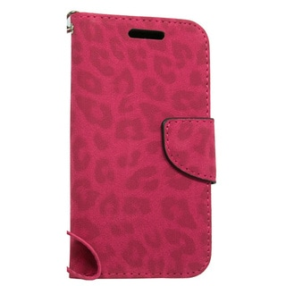 LG Joy H220 Hot Pink Leopard Wallet Pouch