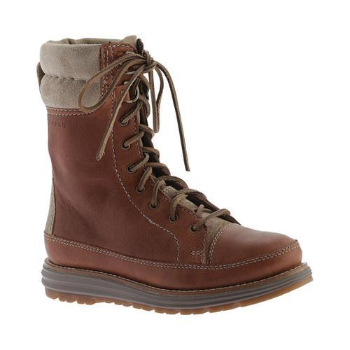 Women's Cole Haan Lockridge Grand Double Collar Lace Up Boot Woodbury  Waterproof