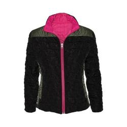 Women's Ojai Clothing Reversible Bistro Jacket Black/Raspberry Sorbet (4 options available)