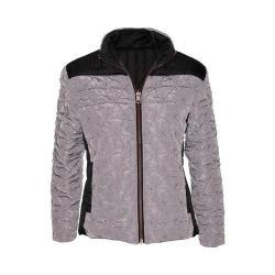 Women's Ojai Clothing Reversible Bistro Jacket Grey Frost/Black