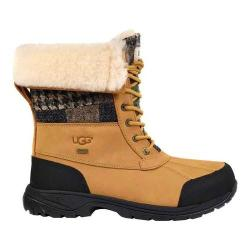 Men's UGG Butte Patchwork Snow Boot Wheat