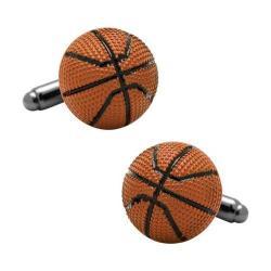 Men's Cufflinks Inc Basketball Cufflinks Orange