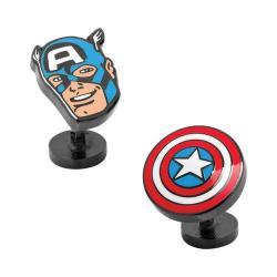 Men's Cufflinks Inc Captain America Comics Pair Cufflinks Multi