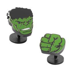 Men's Cufflinks Inc Hulk Comics Pair Cufflinks Green