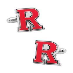 Men's Cufflinks Inc Rutgers University Cufflinks Red