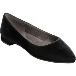 Women's Aerosoles Hey Girl Flat Black Velvet