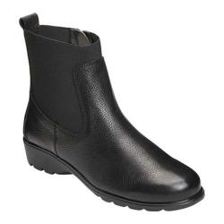 Women's Aerosoles Madison Ankle Boot Black Leather