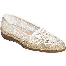 Women's Aerosoles Trend Report Espadrille Bone Fabric/Rope Wrap