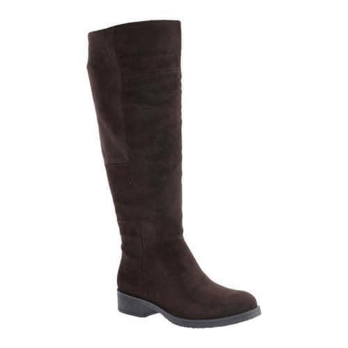 4dc576ec012 Women's Bandolino Terusa Knee High Boot Dark Brown/Dark Brown Suede