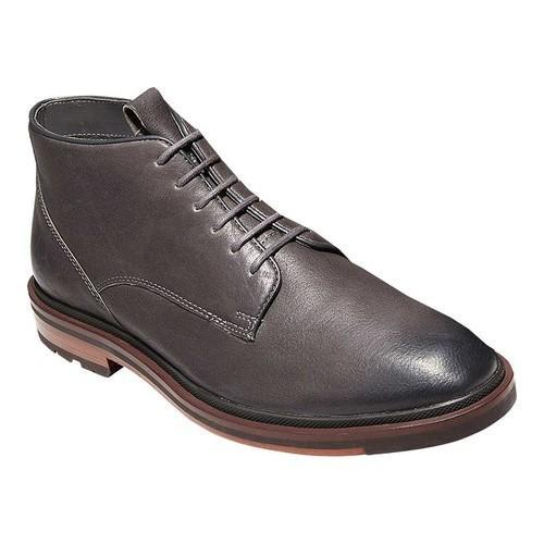 Men's Cole Haan Cranston Chukka Boot Castlerock Tumble Leather - Free  Shipping Today - Overstock.com - 20217579