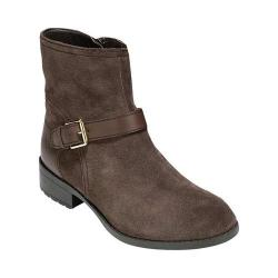 Women's Cole Haan Marla Waterproof Bootie Dark Taupe Waterproof Suede