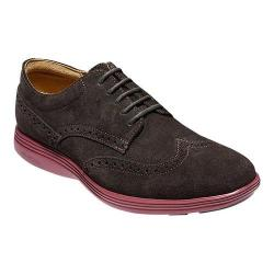 Men's Cole Haan Grand Tour Wing Tip Derby After Dark Suede