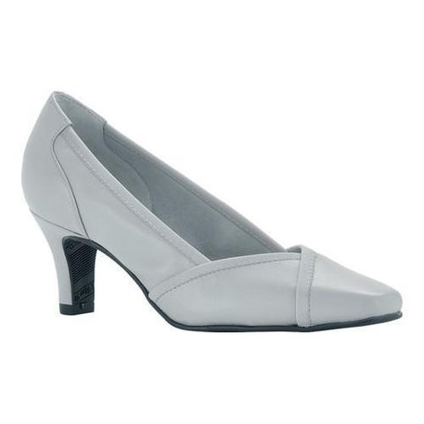 Women's Rose Petals by Walking Cradles Rayna Pump White Leather