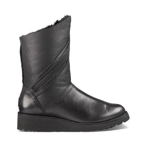 Shop Women S Ugg Lorna Boot Black Free Shipping On