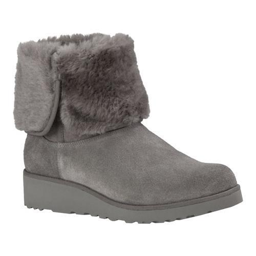 d799f06484186 Shop Women s UGG Amie Boot Grey - Free Shipping Today - Overstock ...