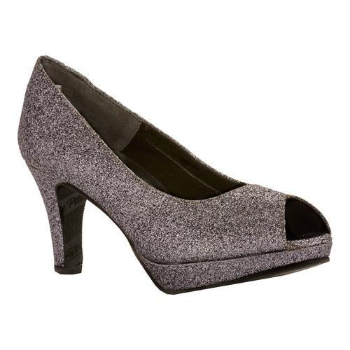 Shop Women s Rose Petals by Walking Cradles Prom Pewter Sparkle  Polyurethane - On Sale - Free Shipping Today - Overstock.com - 13551250 0b05540d0879