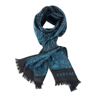 Versace Intricate Medusa Men's Scarf