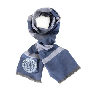 Versace Horizontal Stripe Men's Scarf